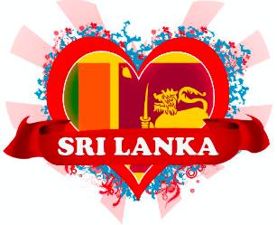 Vintage Love Sri Lanka. Credit: Zazzle UK