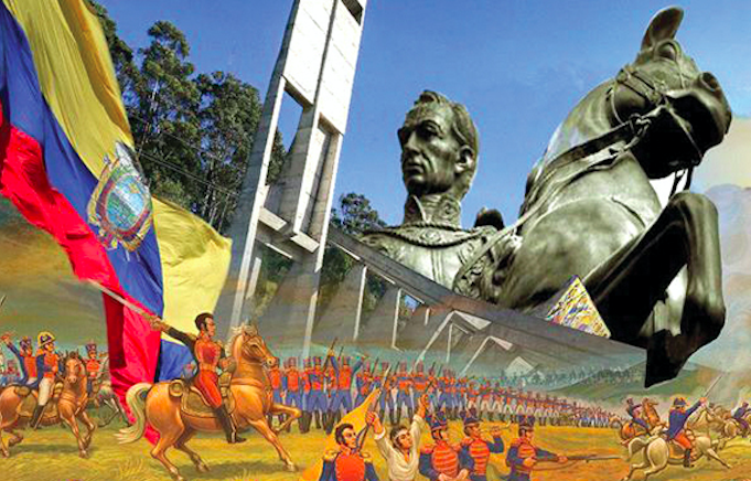 210th year of the first cry for Independence in Ecuador. Credit: La Informacion