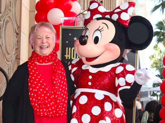 Minnie Mouse voice Russi Taylor. Credit: TVLine/Shutterstock