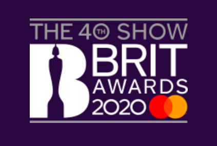The BRIT Awards 2020 logo. Credit to The BRIT Awards