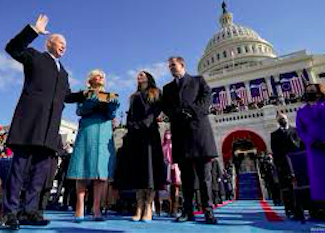 Biden and Harris inauguration. Credit to Voice of America