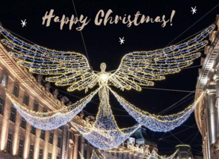Happy Christmas on Bond Street, London. Credit to CN Traveller/BRAMS