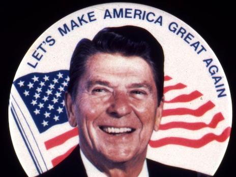 Ronald Reagan. Credit to Spiegel