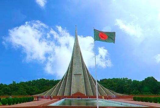 National Memorial at Savar. Credit to The Daily Bangladesh