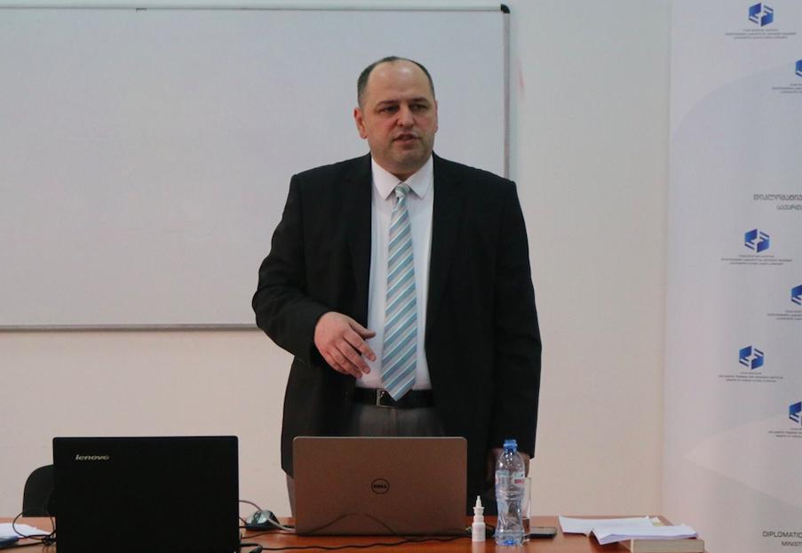 George Vashakidze (title). Credit: DTRIGeorgia