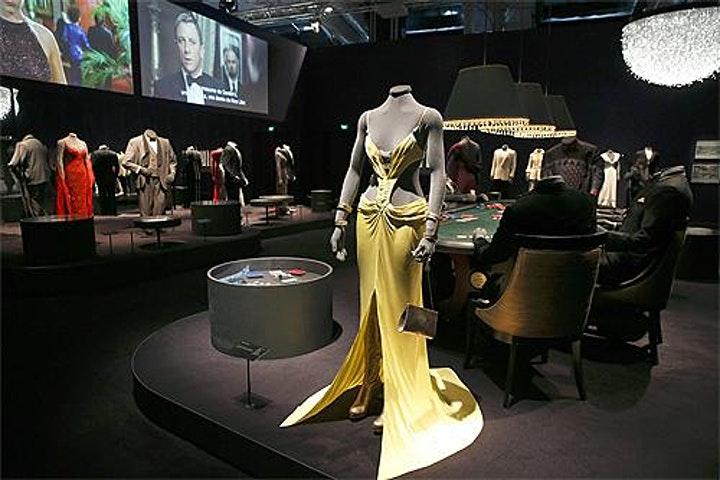 Fashioning James Bond. Credit to Eventbrite