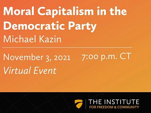 Michael Kazin Public Lecture