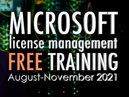 Microsoft License Management 2021