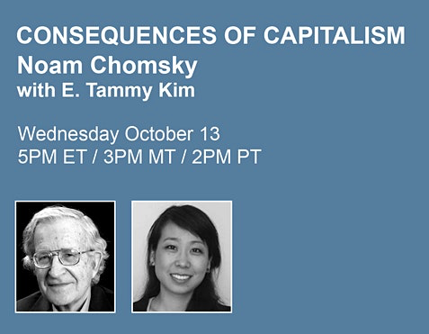 Noam Chomsky Public Lecture