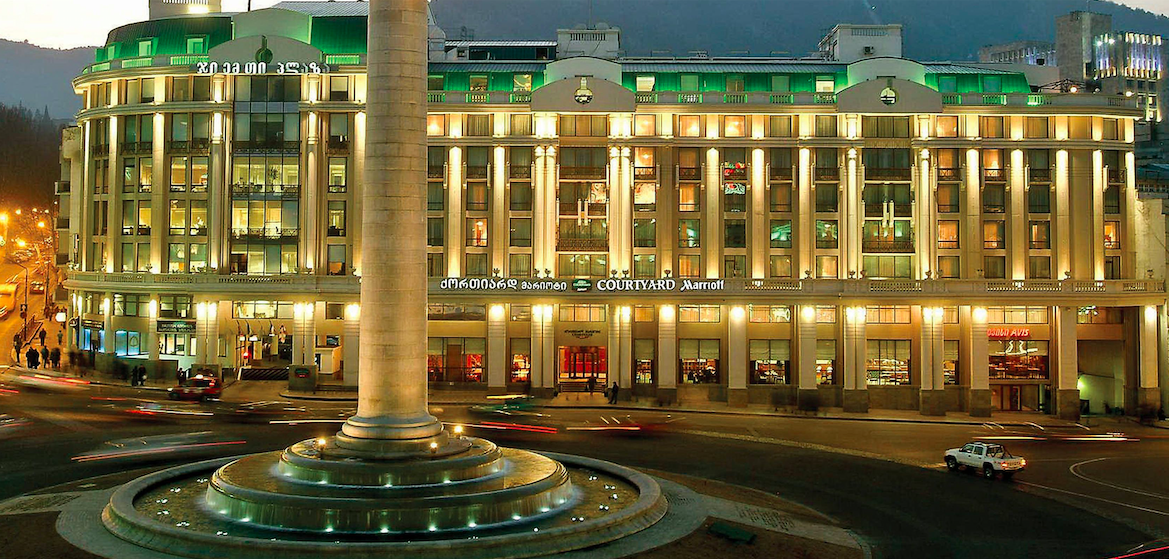 Courtyard by Marriott Tbilisi. Credit to Marriott Hotels