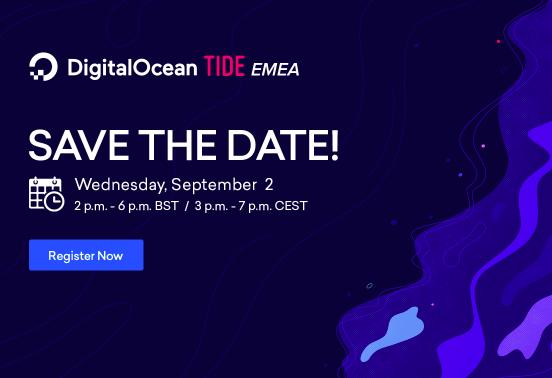 DigitalOcean TIDE ENEA Conference 2020