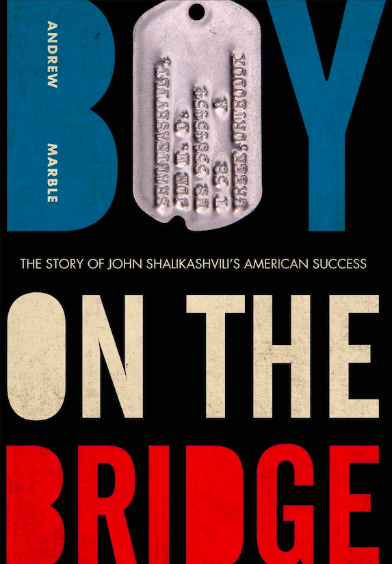 Boy on the Bridge (Front cover of the book). Credit: Amazon
