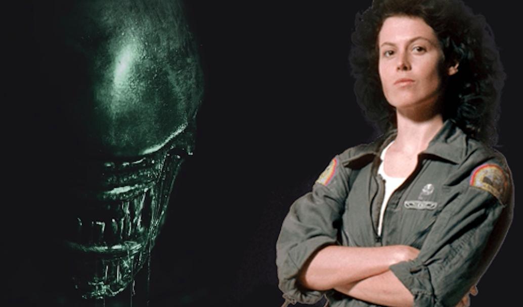 Sigourney Weaver as Ellen Ripley in Alien. Credit: Katherine Waterston/Alien Covenant