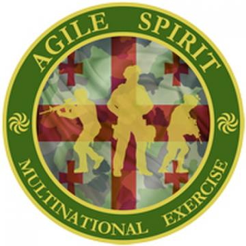Agile Spirit logo. Credit to Ministry of Defence of Georgia FB