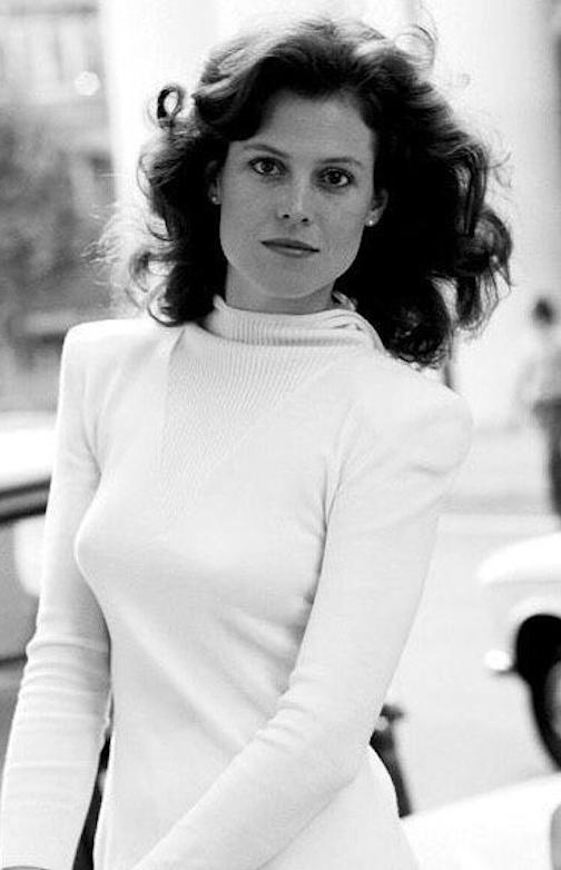 Sigourney Weaver in white. Credit: Paul Phillips