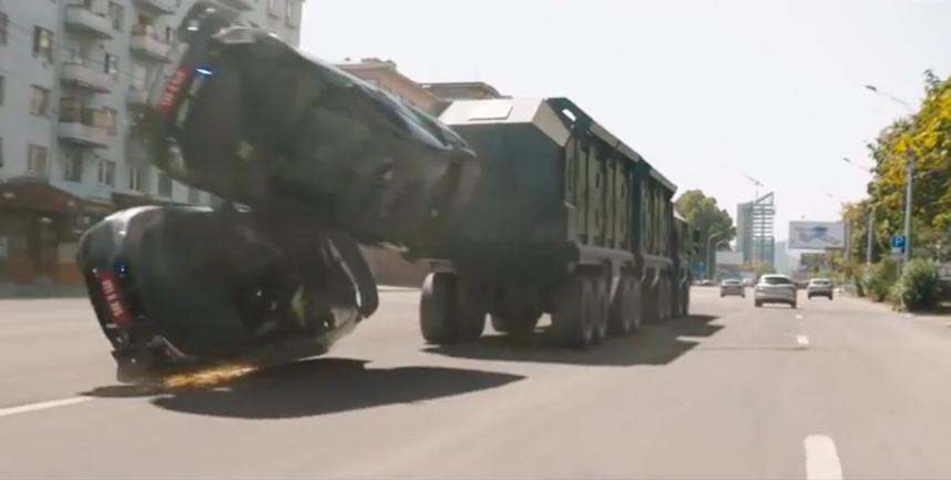 Vazha-Pshavela Avenue, Tbilisi (F&F9 Trailer). Credit to Universal Pictures