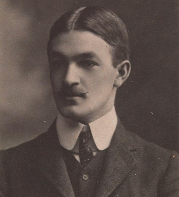 Journalist Edward George Honey (1885-1922), circa 1908. Credit: Johnstone, O'Shannessy & Co., photographers