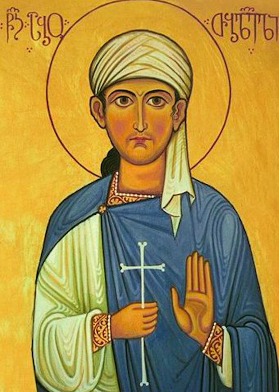 Saint Abo of Tbilisi. Credit: Tkenchoshvili/NPLG