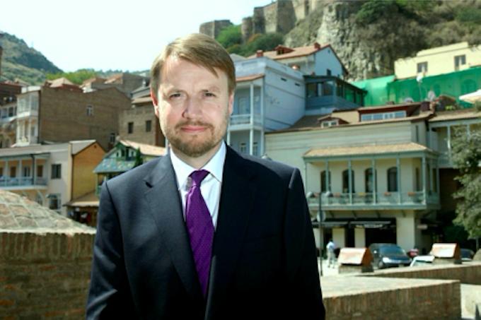 Justin McKenzie Smith, the British ambassador to Georgia (2 Sep 2016). Credit: The British Embassy in Tbilisi/Agenda