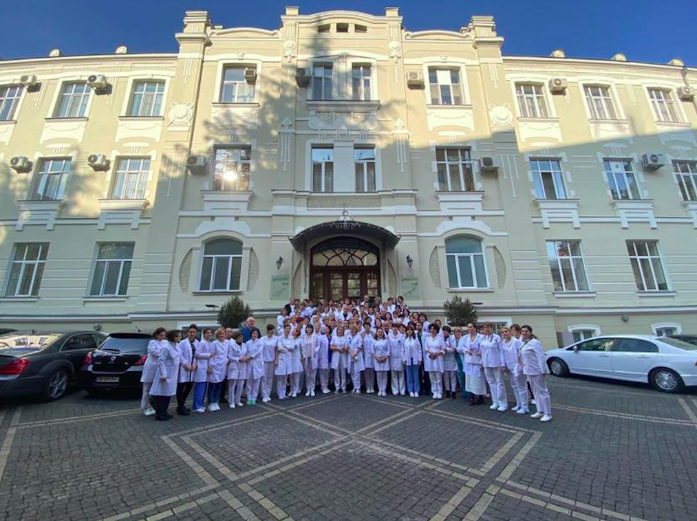 Chachava Clinic, Tbilisi. Credit: Tabula magazine/Facebook