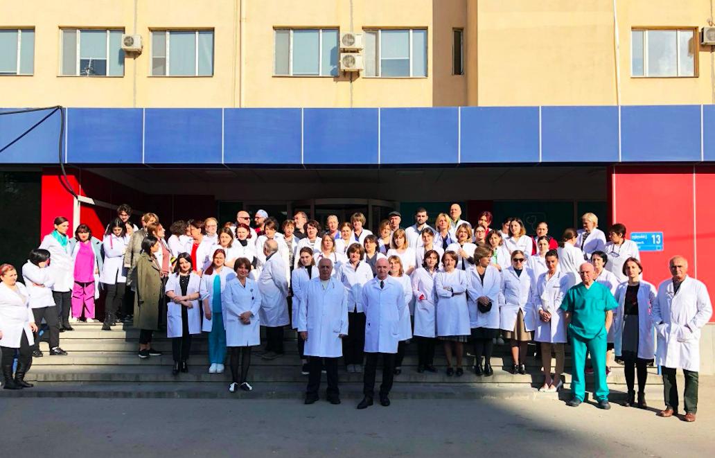 Iashvili Children's Central Hospital in Tbilisi. Credit: Tabula magazine/Facebook